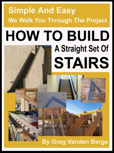 How to Build A Straight Set of Stairs ()