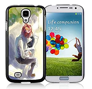 Fashion Custom Designed Waiting Samsung Galaxy S4 I9500 Black Phone Case CR-679