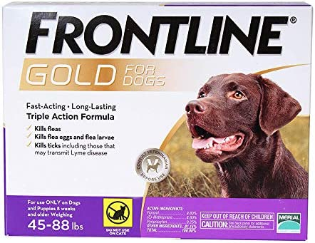 Frontline Gold 3 Dose 4588lbs