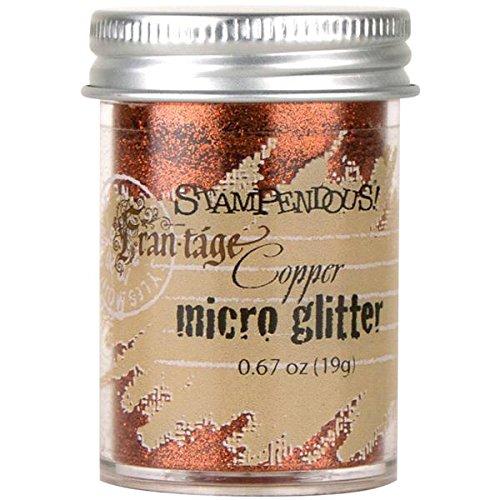 STAMPENDOUS, Micro Glitter, Copper