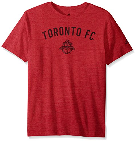 MLS Toronto FC Adult Men City Worn Tri-Blend S/Tee,Large,Red