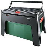 Bosch 1600A0122L Boîte à Outil et Escabeau Multifonction, Vert
