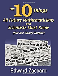 Amazon challenge math for the elementary and middle school the ten things all future mathematicians and scientists must know but are rarely taught fandeluxe Choice Image