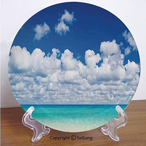 Paradise Stoneware Plates - Ocean 7