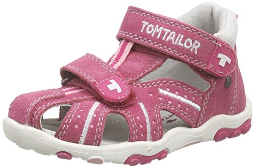 Tom Tailor Kids Tom Tailor Kinderschuhe, Baby Mädchen Lauflernschuhe, Pink (pink-rose), 21 EU