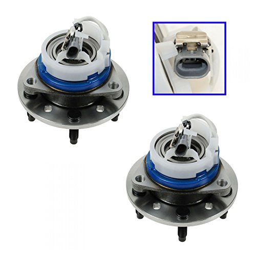 Front Wheel Hub & Bearing Pair for Malibu Alero Cutlass Grand Am w/ ABS (Pontiac Abs Am Grand)