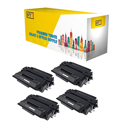 New York Toner New Compatible 4 Pack CE255X High Yield To...