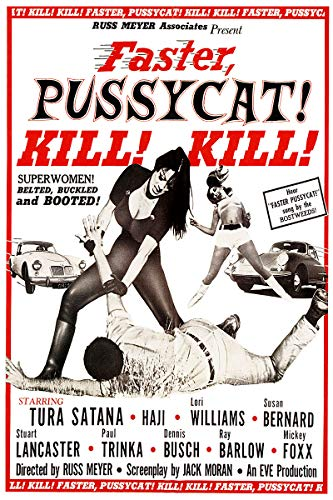 (American Gift Services - Faster Pussycat! Kill! Kill! Vintage Movie Poster - 24x36 )