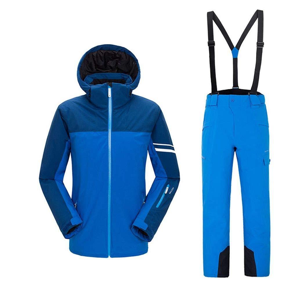 QZHE QZHE QZHE Tuta da sci Uomo Donna Tuta Sci Impermeabile Caldo Sci Snowboard Giacche  Pantaloni Inverno Neve Abbigliamento Set, SB07LG7CB5RXXL | Elegante e solenne  | Export  | Per Vincere Una Ammirazione Alto  | Moderno Ed Elegante A Moda  | Eccellente valo d1794e