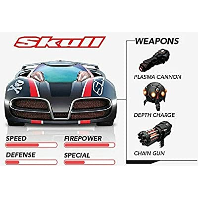 Anki Overdrive or Fast & Furious - Skull Car - with Tracker (Non Retail Packing): Toys & Games