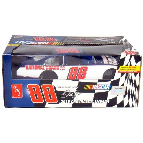 NASCAR®: 2010 Chevy Impala Dale Earnhardt Jr. #88 1:25 Scale (White/Blue) (25 Nascar Kit)
