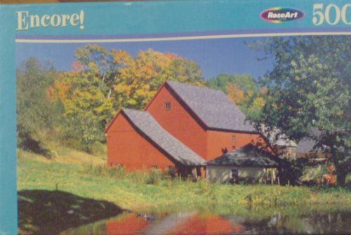 Encore! 500 Piece Puzzle - North Pomfret, Vermont by Rose Art by Rose Art (Pomfret Place)