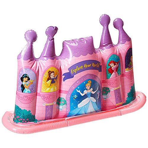 What Kids Want Disney Princess Inflatable Castle Water Sprinkler