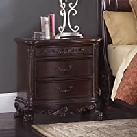 Deryn Park 3 Drawer Nightstand in Cherry