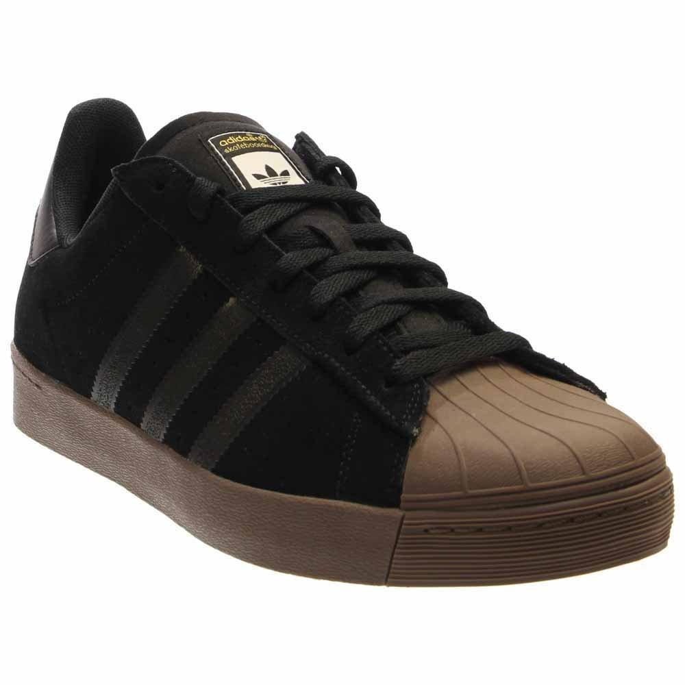 adidas Originals Men's Superstar Vulc Adv Shoes B01HMZ2SNW 7.5 B(M) US Women / 6.5 D(M) US Men|Brown/Ftwwht/Goldmt