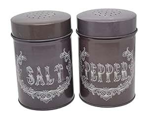 Ohio Wholesale Food Safe Chalk Art Salt and Pepper Shakers Set of 2