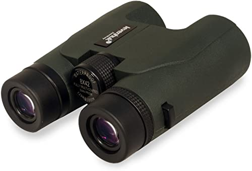 Levenhuk Karma PRO 8×42 Compact Roof Prism Binoculars with Completely Waterproof and Fogproof Body