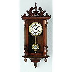 Regulator wall clock, 14 day running time from AMS AM R617/1