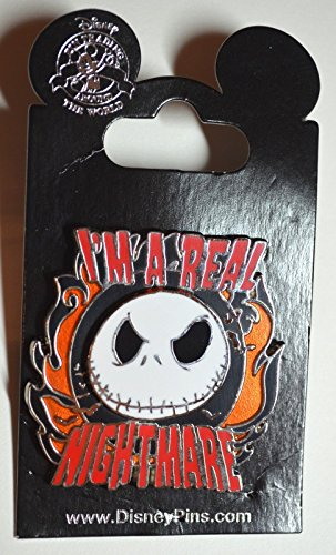Disney Nightmare Before Christmas - I'm a Real Nightmare Pin]()