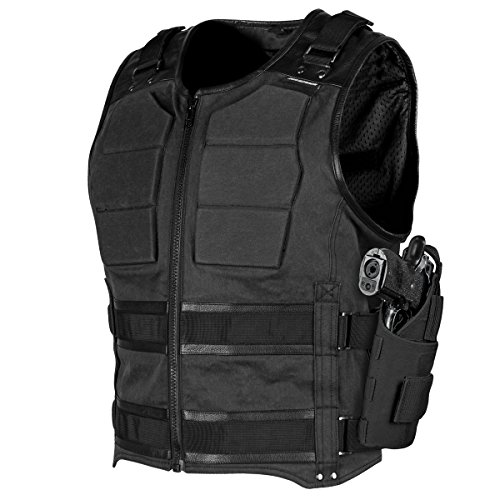 Speed & Strength True Grit Armored Vest (X-Large) (Black)