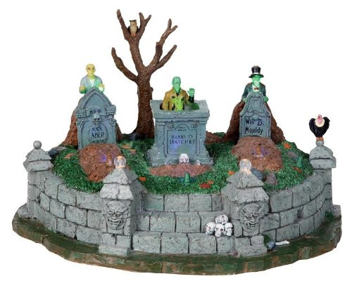 Lemax Spooky Town Dead Are Rising with Adaptor # 04156 by Lemax