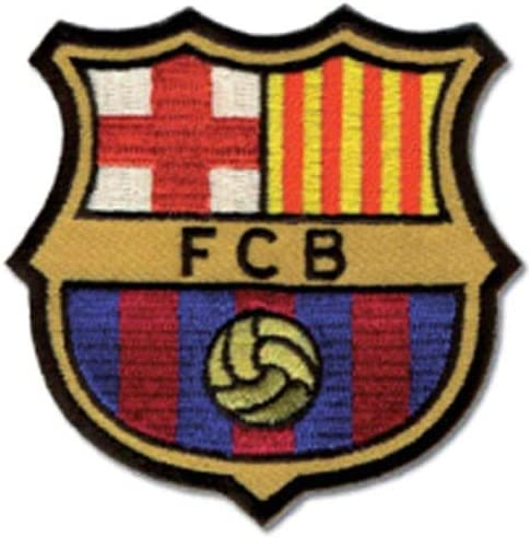Amazon Com For My Cake Fc Barcelona Iron On Patch Spain Spanish Football La Liga Soccer Fcb 2 95 X 2 95 Inches Home Kitchen
