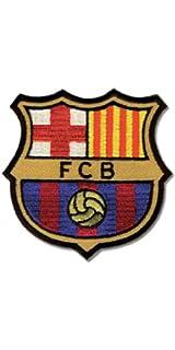 Haberdashery Online Parche Termoadhesivo Barça Oficial. Escudo F.C. Barcelona Bordado. Insignia Barça Grande. Ref. 3333: Amazon.es: Hogar