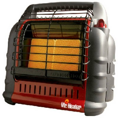 Mr. Heater Big Buddy Indoor/Outdoor Propane Heater - 18,000 BTU, Model# - Stove Gas Vent Rear