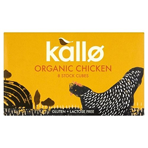 Kallo Organic Chicken Stock Cubes 88G   Pack Of 6