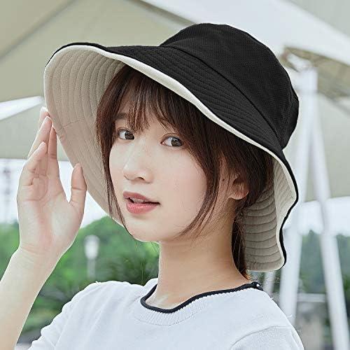 [スポンサー プロダクト]CNUV UVカット 帽子 日よけ帽子 レディース ハット 【UPF50+ UVカット率99% 紫外線対策】日焼け防止 熱中症対策 旅行用uv帽 折りたたみタイプ 小顔効果抜群 両面使える