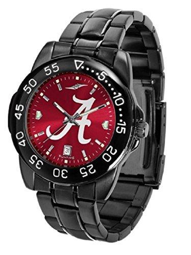 Collegiate Fantom Sport Anochrome Mens Watch with gunmetal band (Alabama) Alabama Crimson Tide Watch