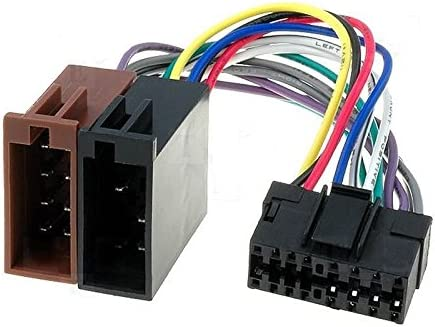 Cavo adattatore connettore ISO per autoradio SONY 16 pins