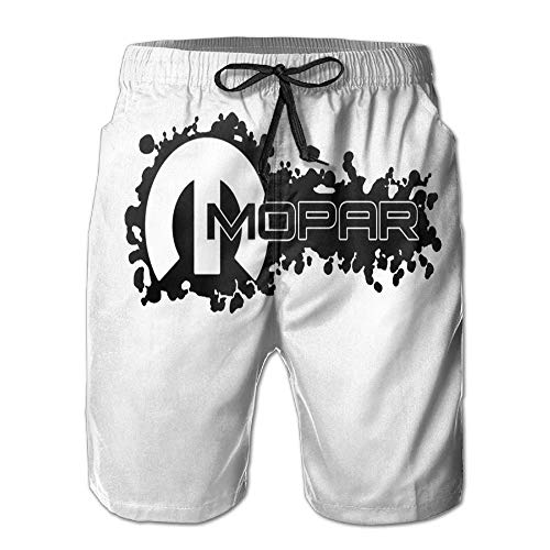 Mopar Logo Mens Swim Boardshorts Beach Shorts Swim Trunks Casual Beach Shorts