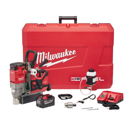 - Milwaukee 278822HD M18 FUEL 1-1/2 in. Lineman Magnetic Drill Kit