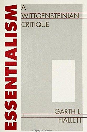 Essentialism: A Wittgensteinian Critique
