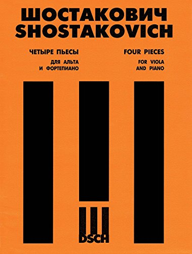 Shostakovich: 4 Pieces from Music to the The Gadfly, Op. 97 (arr. for viola)