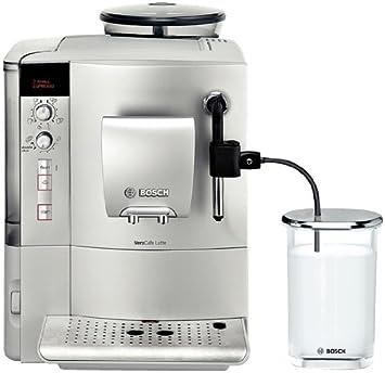Bosch TES503M1DE VeroCafe - Máquina de café espresso (1600 W), color plateado: Amazon.es: Hogar