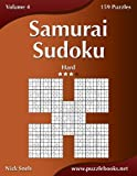 Samurai Sudoku - Hard - Volume 4 - 159 Puzzles