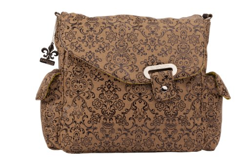 Kalencom Ozz Dainty Water Repellant Diaper Bag, Coffee