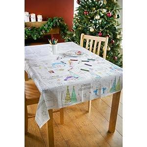 colour table cloth