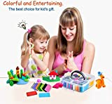 50 Colorful Polymer Clay - Modeling Oven Bake Clay, Safe and Nontoxic Oven Bake Clay DIY Colored Clay Kit with Modeling Tools, Best Gift for Kids