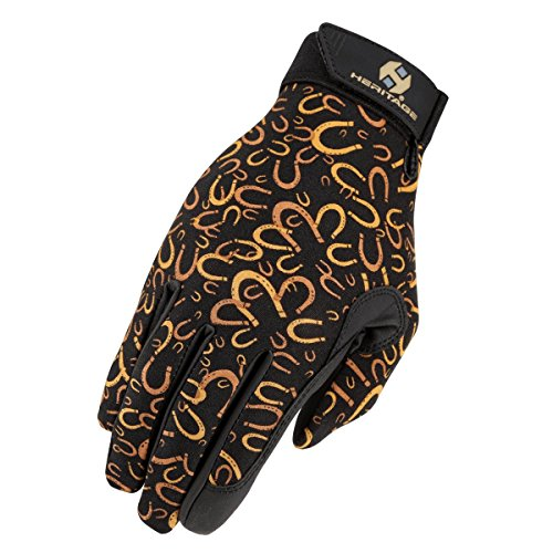 Heritage Performance Gloves, Size 7, Horseshoes