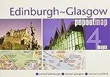 Edinburgh and Glasgow PopOut Map (PopOut Maps)
