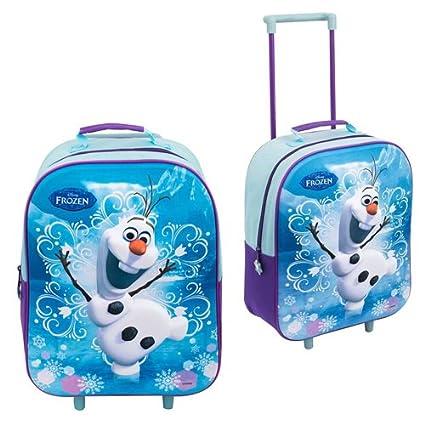 DISNEY de FROZEN carro 3D niños equipaje mochila maleta cabina