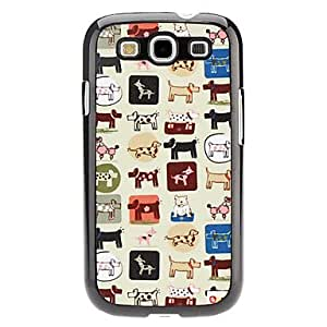 Gt Dog Pattern Hard Case for Samsung Galaxy S3 I9300