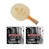 Nittaku Cellenty Rapid Carbon FL + Air Scirocco Soft Table Tennis Racket