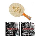 Nittaku Cellenty Rapid Carbon FL + Air Scirocco Soft Table Tennis Racket