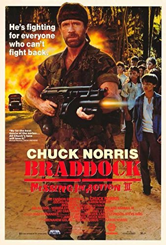 Braddock: Missing in Action 3 Movie Poster