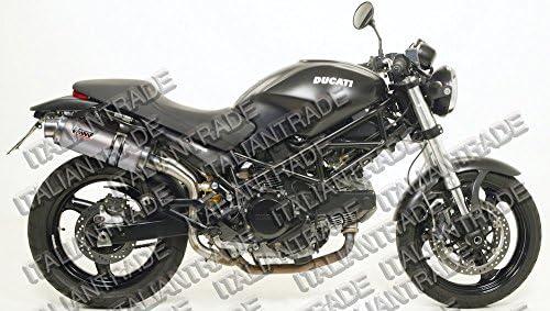 Mivv Auspuff Ducati Monster 900 Bj 93 98 Oval Edelstahl Motorrad Auto