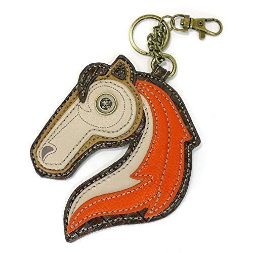- Chala Coin Purse - Key Fob - HORSE
